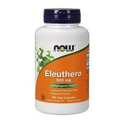 Eleuthero Root Organic 500 мг, 100 капсул