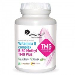 Vitamina B Complex B-50 Methyl TMG PLUS, 100 капсул.
